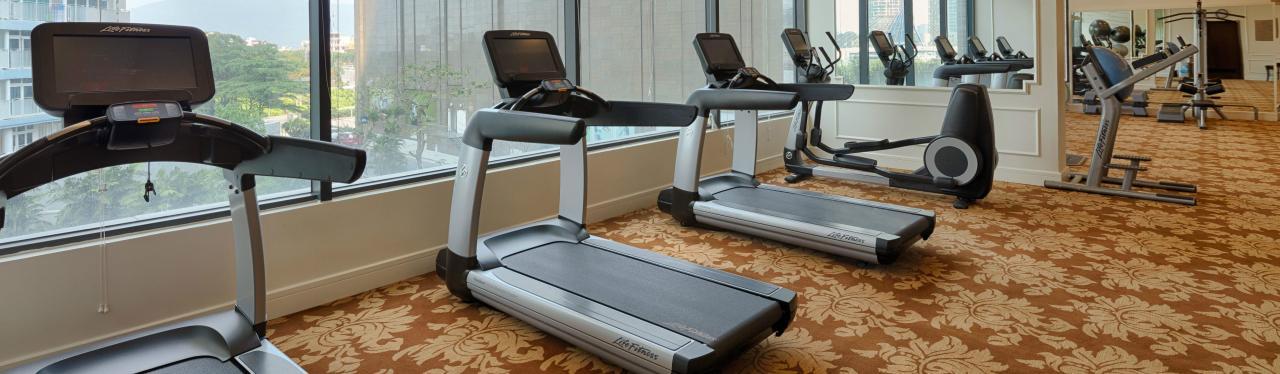 phòng tập gym tại vinpearl condotel riverfront đà nẵng