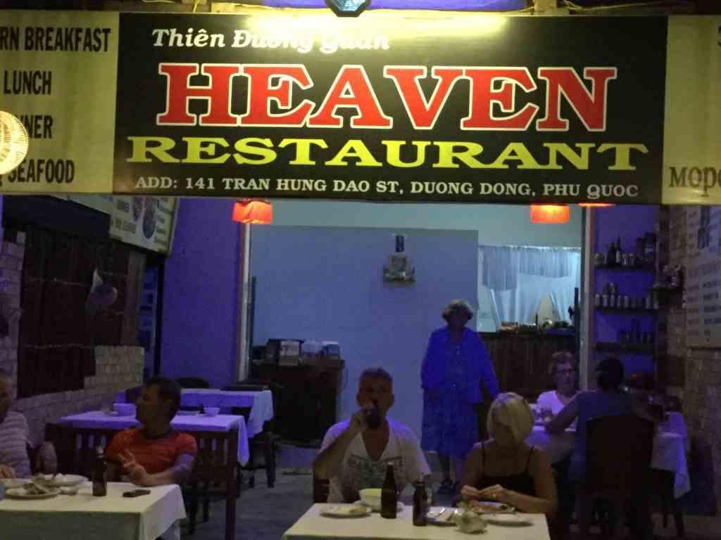 Nhà hàng Heaven Phú Quốc