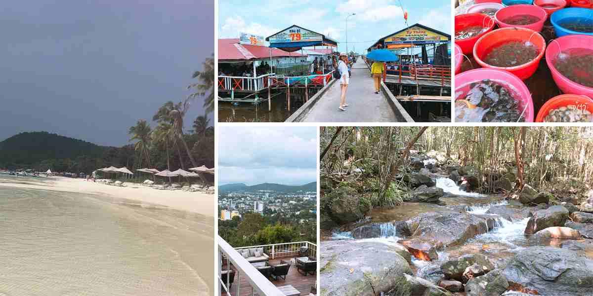 Bãi sao – Ăn trưa Làng chài Hàm Ninh – Suối Tranh – Café Chuồn Chuồn Bistro & Sky Bar