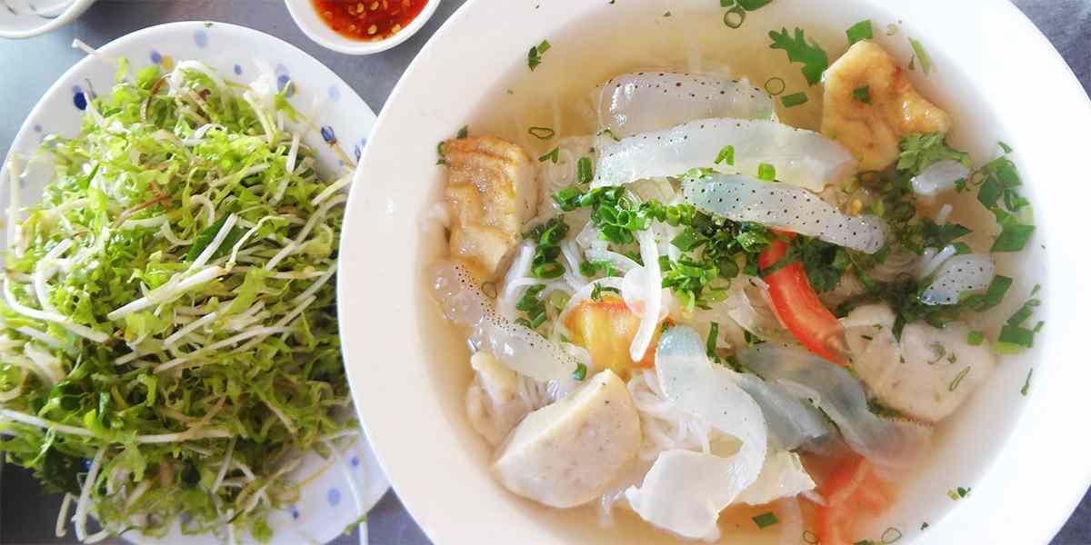 Bún Sứa Nha Trang - Hương vị của biển cả