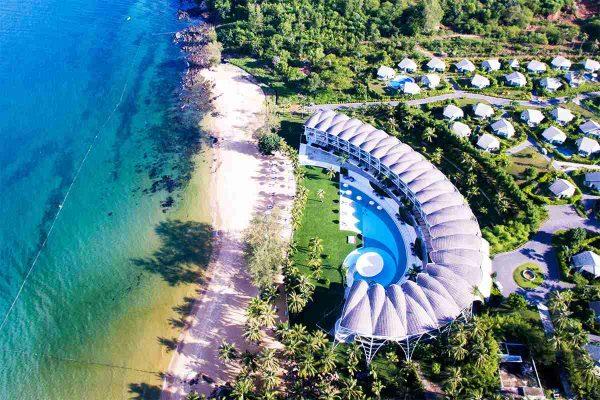 Một khu nghỉ dưỡng tại bãi Ông Lang Phú Quốc