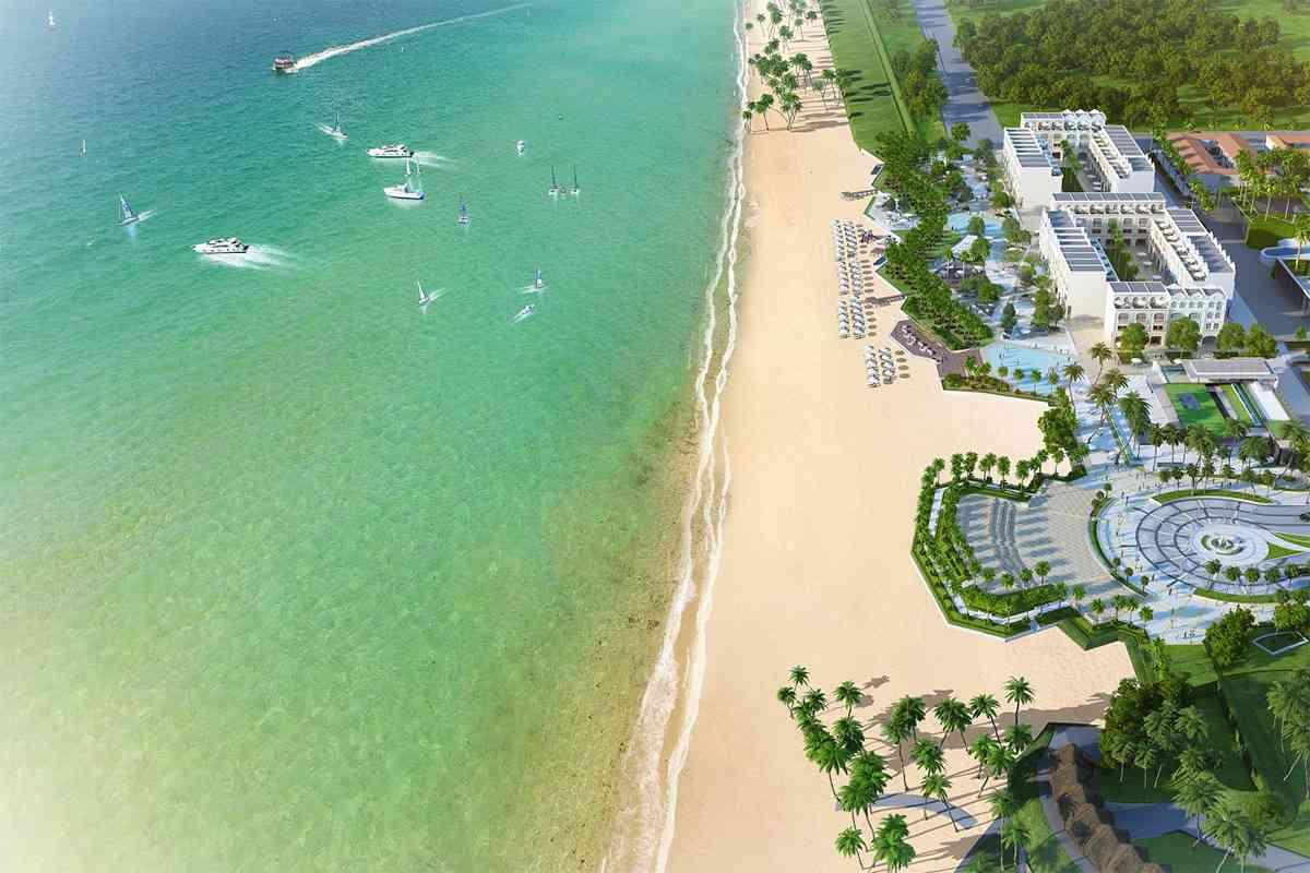 Một khu Resort bên Bãi Trường Phú Quốc