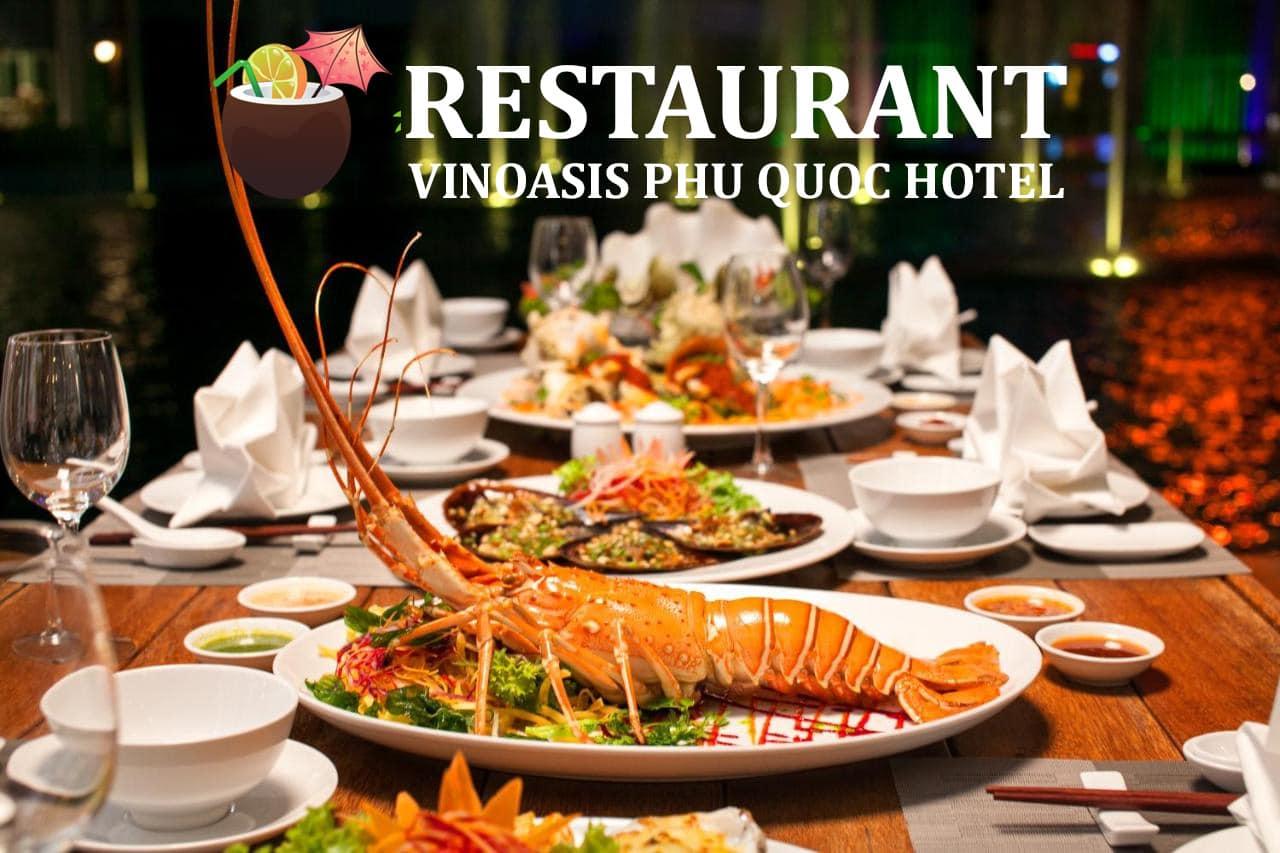 Nhà hàng tại VinOasis Phú Quốc Hotel