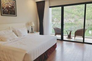 Phòng Deluxe Garden Vinpearl Nha Trang Bay