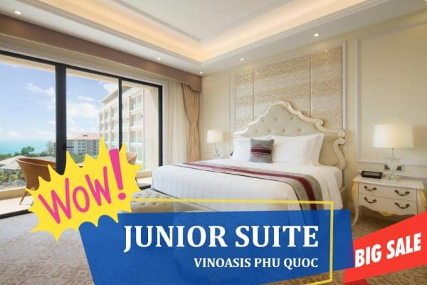 giảm giá phòng junior suite vinoasis phú quốc
