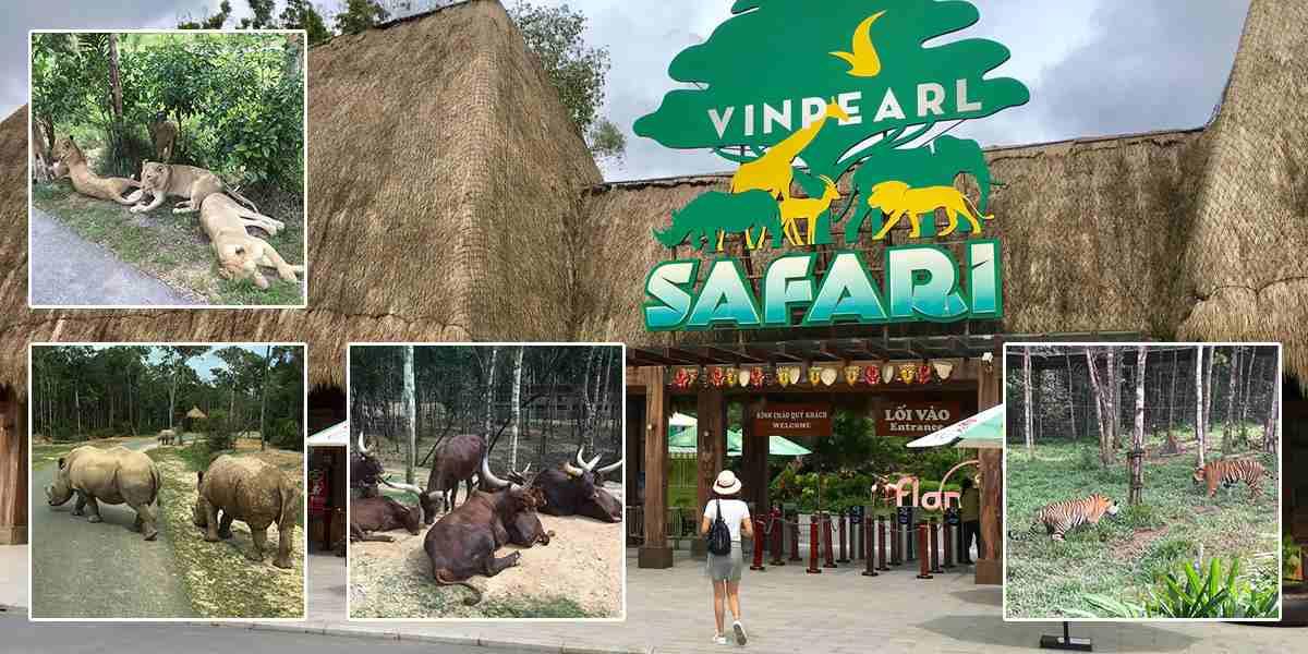 Khu vườn thú mở Safari Phú Quốc