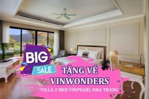 Villa 3 phòng ngủ Vinpearl Nha Trang tặng vé vinwonders