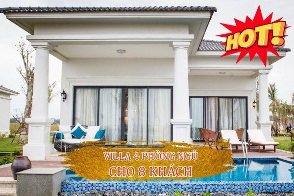 villa 4 phong ngu vinpearl cua hoi danh cho 8 khach
