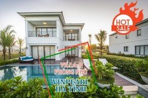 villa 4 phong ngu vinpearl ha tinh danh cho 8 khach