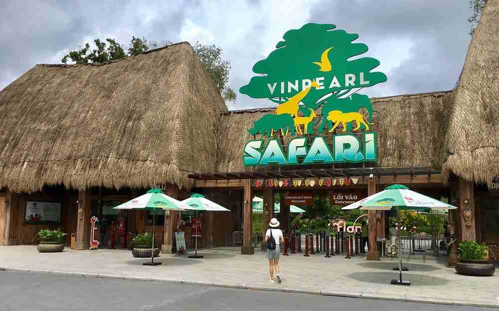 Cổng vào Vinpearl Safari Phú Quốc