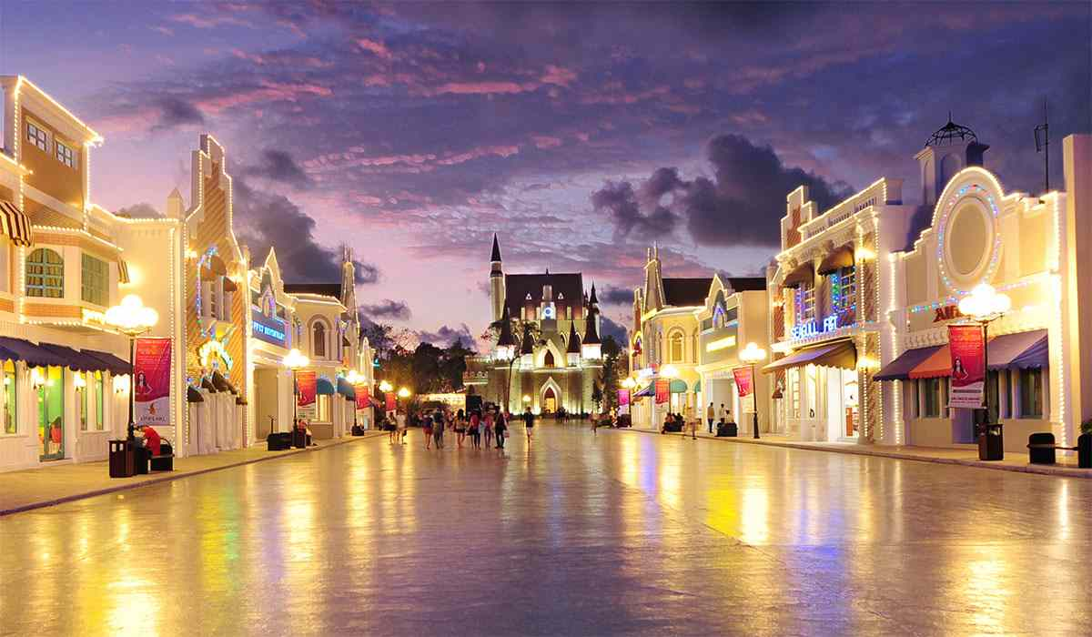 Mua sắm ở Vinpearl Land Phú Quốc
